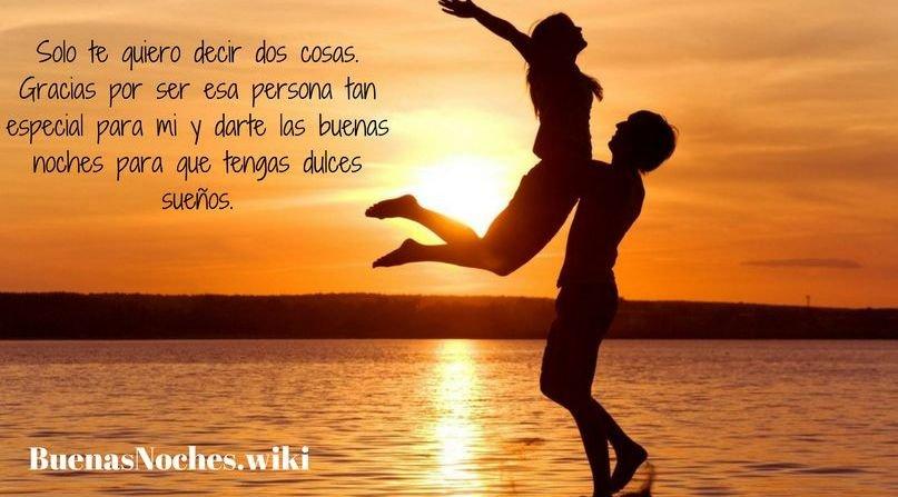Frases de buenas noches amor con foto